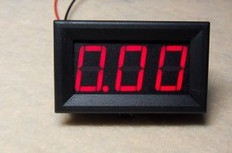 YSA10 Digitale Amperometro (0-10A) Amperometro head, powered 4-30V