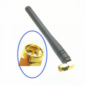 GSM ANTENNA 11CM Right Angle SMA CONECTOR NEEDLE