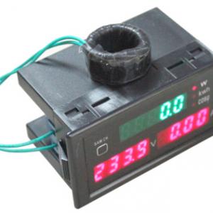 1x LED Digitale Wattmeter Voltmetro Amperometro Kilowatthourmeter Power factor panel Modulo