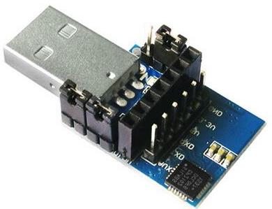 CP2102 2.4G 433M wireless Seriale Modulo, USB to TTL, Brush communication Modulo USB Adattatore plate
