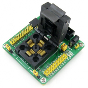 STM32-QFP48 STM32 STM32F STM32F1 STM32L LQFP48 QFP48 Program Programmatore Programming JTAG SWD Port Yamaichi IC Test & Burn-in