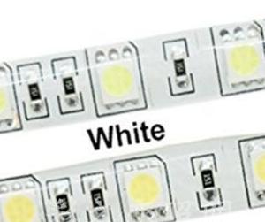 5050 SMD 12V 60Leds/Meter White IP65 Impermeabile 5M/Reel , Price For 5M/Reel