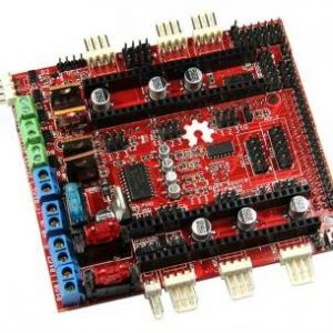 Sostituisci il nuovo Pololu Shield RAMPS-FD per il controller della stampante 3D Arduino Due (anziché RAMPS1.4)
