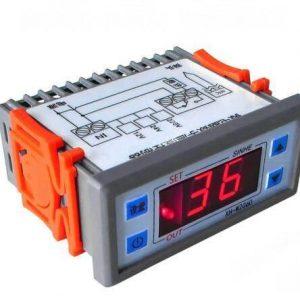 Termostato digitale incorporato XH-W2060 12V Termostato per cella frigorifera per cella frigorifera Termoregolatore Controllo te
