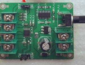 Scheda driver motore brushless DC Unità disco rigido Controller motore 9V-12V 3 Line 4 Line No Hall