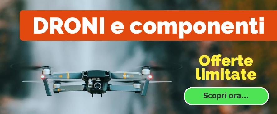 droni e componenti